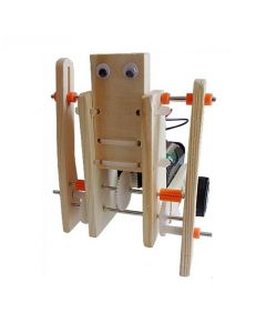 Multi Linkage Structure Wooden Monster Robot