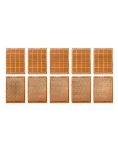 Monday Kids 10Pcs Prototype Paper Copper PCB Universal Experiment Matrix Circuit Board 5x7cm Brand