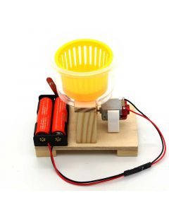 DIY Dehydrator for Kids for Demonstrating Centrifugal Force Phenomenon