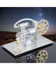 Hot Air Stirling Engine Model Electric Generator Motor Physics Steam Power Toy Lab Teaching Equipment
