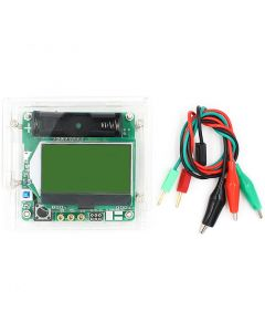 Monday Kids DIY Kits 3.7V  Inductor Capacitor ESR Meter MG328 Multifunction Transistor Tester with Acrylic shell