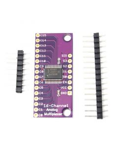 Monday Kids 2V-6V 16-Channels Analog Digital MUX Breakout Board Module Multiplexer With Pin CD74HC4067 for Arduino Microcontroller Device