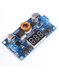 Monday Kids 5A 5-36V To 1.2V-32V Step Down Module DC-DC Adjustable Voltage Buck Converter Board 75W With Voltmeter Digital LED Display