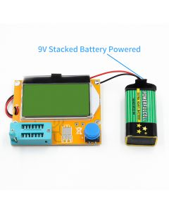 Monday Kids DIY Kits Mega328 M328 LCR-T4 12846 LCD Digital Transistor Tester Diode Triode Capacitance ESR Meter with Backlight