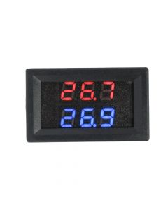 Monday Kids DC 4.0V-28V Dual Digital LED Display Thermometer Meter K-type Thermocouple High Temperature Thermocouple Tester