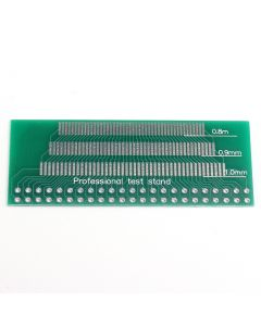 Monday Kids 10pcs 46-Pin 0.8mm 0.9mm 1.0mm 1.1mm 1.2mm 1.3mm Pin Space Adapter Board PCB Plate Pinboard Electronic Components Training 46PIN