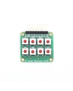 Monday Kids 2x4 Keypad 4x2 Keypad Push Buttons 8 Key Board Matrix Keyboard Button for Arduino AVR PIC