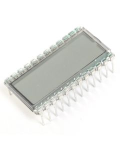 Monday Kids EDS812 3 Bit LCD Display Module Digit Clock 30.7*16.2*2.8mm 8 Characters 5V LCD Screen Glass