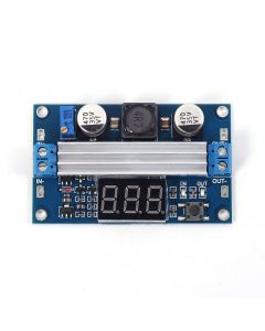 Monday Kids DC-DC Step Up Power Supply 35V Module Automatic Boost Module 3.0-35V to 3.5-35V 100W High Power Step Up Board Real-time Display