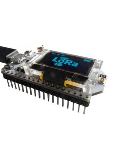 Monday Kids LoRa ESP32 0.96 Inch Blue OLED Display SX1278 Bluetooth WIFI Lora Kit 32 Module Internet Development Board for Arduino w/Antenna