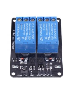 Monday Kids 5V 2 Channel Relay Module for Arduino Uno R3 Raspberry Pi Relay Interface Board Raspberry Module Control Board with Optocoupler
