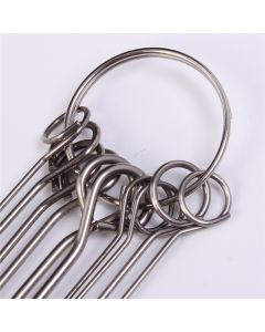 Monday Kids 10 Kinds Stainless Steel Needle Set PCB Electronic Circuit Through Hole Needle Desoldering Welding Repair Tool 80mm 0.7-1.3mm