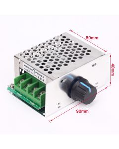Monday Kids DC 10V-60V 12V 24V 36V 48V 20A PWM DC Motor Speed Controller Regulator Switch Potentiometer Electrical Motor Controller