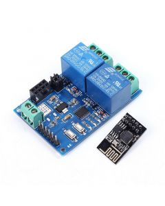 Monday Kids 5V WIFI Relay Module ESP8266 IOT APP Controller 2-Channel For Smart Home Automation Board Mobile Phone WiFi Module