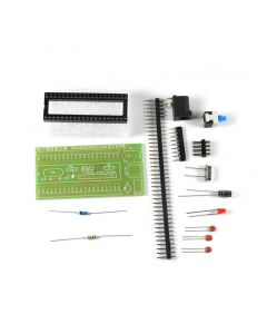 Monday Kids 51 Single-chip Minimum System Board Kit STC89C52/AT89S52 Electronic DIY Parts Welding Practice