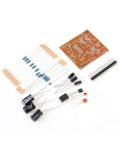 Monday Kids DIY Classic Operational Amplifier Circuit Experimental Board DIY Kit OP Amp Parts Integrated Amplifier Electronic Training Suite