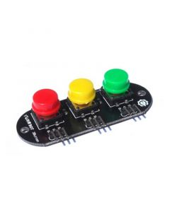 Monday Kids 3 Bit 3 color High Keypad Button Module For Arduino Electronic Blocks