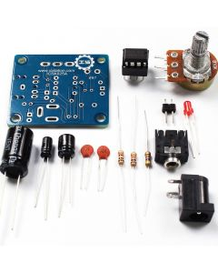 Monday Kids LM386 Super MINI Amplifier Board DIY Amplifier Kit 3V-12V Power Amplifier Suit Fun Electronic DIY Kit ICSK025A for Small Speaker