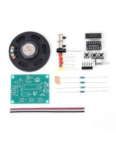 Monday Kids 20S 20 Seconds Voice Sound Recording Recorder Module Kit D1820P DIY Kits Precise DC 3-5V Talking Music Audio Recordable