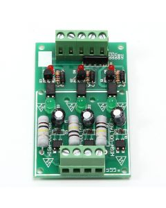 Monday Kids 3 Channel Optocoupler Isolation Module AC 220V Isolated Board Testing Module No PCB Holder AC Detection Module