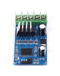Monday Kids 170W High Power H-Bridge Motor Driver Module NMOS Brake Duty Cycle for DC 5-40V Motor 4 External NMOS Tubes Two PWM inputs