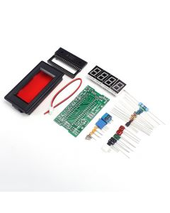 Monday Kids DC 5V 35mA ICL7107 Digital Ammeter Red LED Display Module DIY Kit Electronic Learning