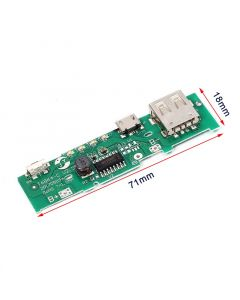 Monday Kids 5V 1A Power Bank Charger Board Charging Circuit PCB Board Power Supply Step Up Boost Module Mobile Phone For 18650 Battery DIY