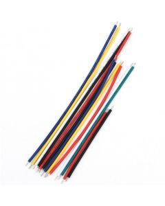 Monday Kids 130Pcs 24AWG Breadboard Jumper Cable Wires Kit Tinning Double Tinned Component Pack Colorful 13 Types 10 Pcs each 5CM 8CM 10CM