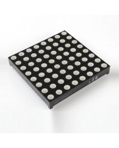 Monday Kids 5mm Anode 8x8 Square Matrix Colorful RGB LED Display Module Common Anode Full Colour 60*60mm