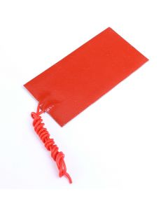 Monday Kids 50mmx100mm 12V 15W Silicone Rubber Heating Panel Constant Temperature Heater Plate