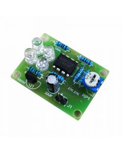Monday Kids Welding Practice Fun Electronic Production Kit LM358 Breathing Light Training Kit PCB Board Installation