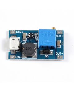 Monday Kids DC-DC 2V-24V to 5/9/12/28V Boost Step-Up Power Module Micro USB Input 2A Voltage Converter