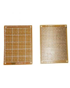 Monday Kids 20pcs 5x7cm DIY Phototype Paper PCB Universal Board Single Side Circuit Breadboard Electronic Kits Copper PCB Kit Electronique