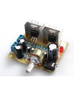 Monday Kids DIY Dual Channel TDA2030A Power Amplifier Board DIY Kit for Arduino Electronic Production Training Suite