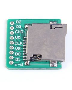 Monday Kids TF Card Micro SD Card Adapter Board Memory Card Interface Pinboard Module 20x20mm 2mm Ultra-small