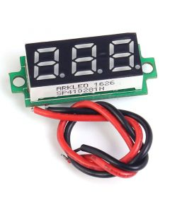 Monday Kids 0.28 Inch Red Mini Digital Thermometer LED Display Module for DS18B20 -55~125 Celsius Temperature Sensor Meter Tester DC 4-28V