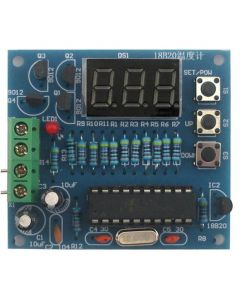 Monday Kids DIY Kits AT89C2051 DS18B20 Kit Digital Temperature Controller microcontroller Design Thermometer Electronic Suite