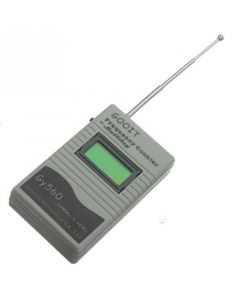 Monday Kids Useful Frequency Test Device for Two Way Radio Transceiver GSM 50 MHz-2.4 GHz GY560 Frequency Counter Meter