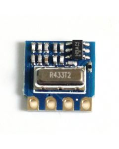 Monday Kids H34A-433 433Mhz MINI RF Wireless Transmitter Module Minimum Remote Control Module ASK 2.6-12V