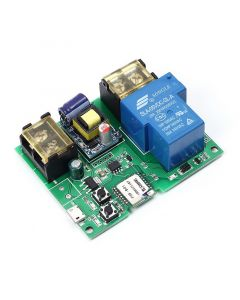 Monday Kids Wifi Remote Control Relay Module 220V 30A High Power 6000W Phone APP Remote Control Timer Switch