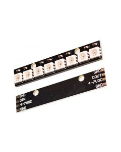 Monday Kids 8 channel WS2812 5050 RGB LED lights built-in full color-driven development board