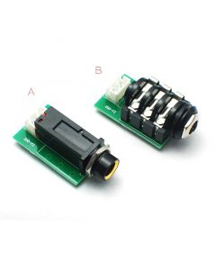 Monday Kids 6.35 6.5 Microphone Signal Take-off Board Headphone Jack Adapter Board DIY Wiring Board